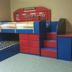 Baseball Dugout Bedroom Designs We Thought These Rope