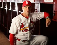 Manager Mike Matheny poses for his pic  :))  2-19-13