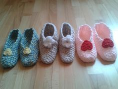 Easy Crocheted Slipper Pattern