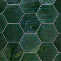 EO Tiles offers great wholesale and customized services for green hexagon mosaic tiles offered in our factory. Welcome to contact our manufacturers and suppliers for more information about green hexagon mosaic tiles. Hexagon Tile Backsplash, Green Mosaic Tiles, Hexagon Mosaic Tile, Kitchen Tiles, Honeycomb Tile, Wall Tile, Green Kitchen, Reno, Terrazzo
