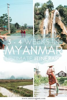 Planning on traveling to Myanmar? Read here about all the things to do in Myanmar that you should add to your Myanmar itinerary. A detailed 3 - 4 week itinerary for Myanmar including things to do in Myanmar, places to see in Myanmar and where to st Cool Places To Visit, Places To Travel, Travel Destinations, Yangon, Myanmar Travel, Africa Travel, Mandalay, Wanderlust, Backpacking Asia