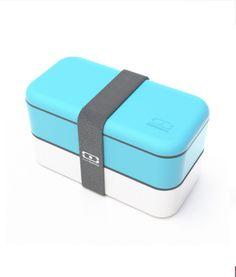 MB Original light blue / white - The bento box Bento Box, Light Blue, Container, Blue And White, The Originals, Stuff To Buy, Drink, Design, Food