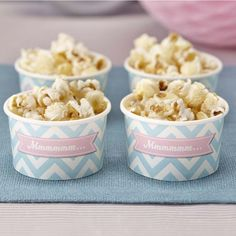 Chevron Treat / Ice Cream Party Tub Bowls by Ginger Ray, the perfect gift for Explore more unique gifts in our curated marketplace. Popcorn Bar, Candy Popcorn, Ice Cream Treats, Ice Cream Party, Deco Pastel, Pastel Mint, Ice Cream Tubs, Party Treats, Candy Buffet