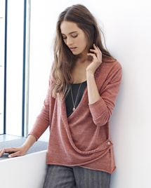 Product Image of Drape front shimmer detail cardigan