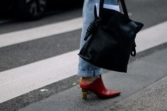Street Style: París Fashion Week Fall-Winter 2016 (Mules)