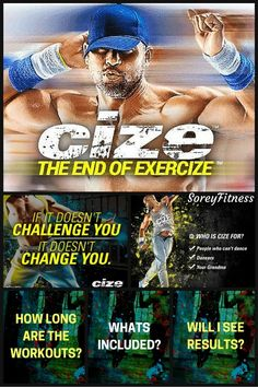 If you hate to workout, Shaun T's new dance workout called Cize is perfect for you!