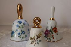 Porcelain Bells Small collection.