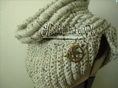 Cowl Scarf based on Katniss's as seen in the teaser trailer for Hunger Games- Catching Fire