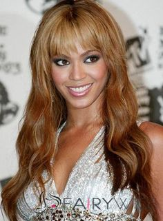 Marvelous Long Brown 100% Indian Remy Hair Wigs for Black Women