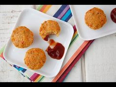 Cheesy Turkey Meatloaf Bites Video - Weelicious Good.