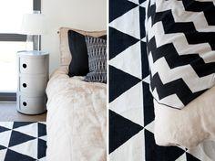 Kodin1-yhteistyö Valkoinen Harmaja -blogin kanssa. Blanket, Home, Eggs, Ad Home, Blankets, Homes, Cover, Comforters, Haus
