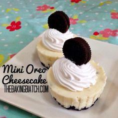 The Baking Biatch || by Cynthia Lim: Cynthia's Mini Oreo Cheesecake