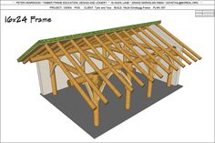 Norwegian Grindbygg Trestle Frame Plans