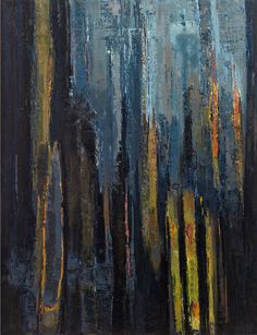 "Saatchi Online Artist: Frederic Choisel; Oil, Painting ""Nuit Fifty One"""