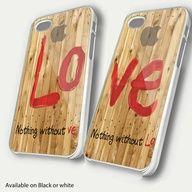 Love  Couple Valentine Love painting custom Unique Case iphone 4,4s hard case  case i phone 5 hard case. $31.99, via Etsy. geeky-tech-love-happy-valentine-s-social-media-sty