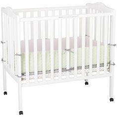Delta - Fold Away Portable Crib, Choose Your Finish