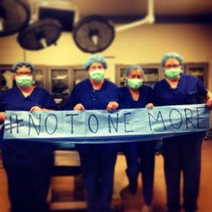 #Illinois nurses say #notonemore http://act.everytown.org/sign/NotOneMor … #MomsDemand #gunsense. It is a FACT that over 100,000 people per year are shot. Over 30,000 per year die from gunshots.