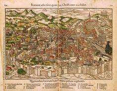 Здесь - карты, на которых Рим изображен в современном (т.е. 16 в.) виде. Часть из них я уже выкладывал . Про карты античного Рима (как его видели в 16 в.) будет отдельный…
