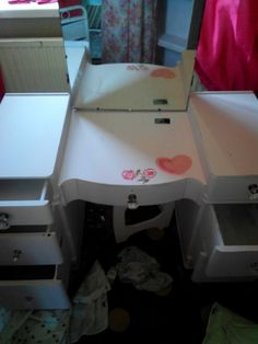 Old dresser up cycled