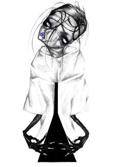 Alexandria Angelo Illustrations : Acne Studios FALL 2012