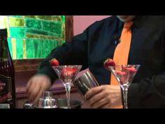 Daikiri de fresa con espuma de yogur - YouTube