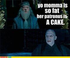 nice one, Dumbledore!