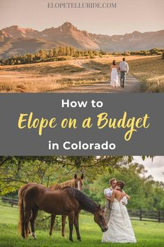How much does is cost to elope in Colorado? Elope Telluride's Mini Elopement package is just $2000 with epic photography, location planning ideas