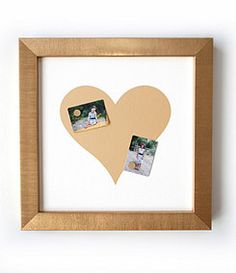 Mikey Lin´s Gold Heart Magnet Board