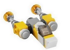 Lego Star Wars:Mini Anakin's Y-Wing