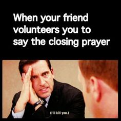 We've all had that cringe-worthy moment at church thatwe pretended didn't just happen. Laugh with us if these memes totally tell it all!Go ahead, shout it out: Which of these has happened to you more than once?!