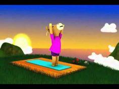 Yoga para Niños - Famosa Vaca Ooommm Mmmooo - YouTube