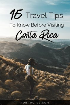 Important things to know before visiting Costa Rica. Want to know the best time to visit, how many days are enough, and all the best things to do in Costa Rica? These useful travel tips will help you plan a dream trip to this tropical vacation spot. #costarica #monteverde #arenal #lafortuna #puravida #centralamerica #latinamerica #travelguide #tripplanning #traveltips #itinerary #thingstodo #traveldestinations #vacationinspiration #nextvacation #wanderlust #bucketlist #honeymoontravel