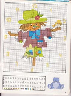 Relojes en punto de cruz (pág. 4) | Aprender manualidades es facilisimo.com