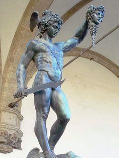 Perseus with the Head of Medusa - Kenton de Jong Travel - http://kentondejong.com/blog/the-statues-of-piazza-della-signoria