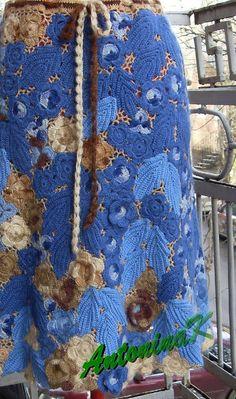 Blue-brown_skirt by antonina.kuznetsova, via Flickr