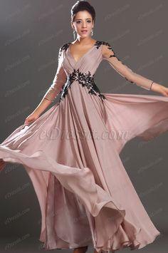 eDressit New Fabulous Sexy V-neck Black Lace Evening Dress (02130201) $184