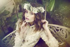 love the hair wreath