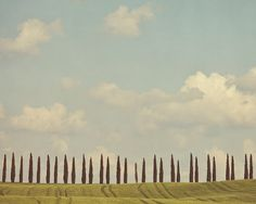 Tuscany Photograph Italy Landscape by EyePoetryPhotography on Etsy, $30.00