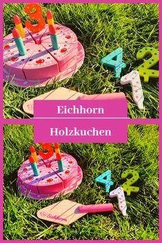 Spielzeug für Kinder, Holzkuchen, Kuchen ohne backen, spielen, Kinderleben, Eichhorn, Holzspielzeug, Qualität, Holz