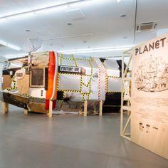 Ausstellungsansicht Planet B: Labor Fou / NRW-Forum Düsseldorf, Foto: B. Babic