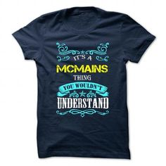 awesome Best quality t shirts Special Things of Mcmains