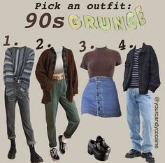 Grunge Outfits, Indie Outfits, Edgy Outfits, Teen Fashion Outfits, Retro Outfits, Grunge Fashion, Cute Casual Outfits, Look Fashion, New Outfits