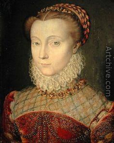 Portrait de femme, Jean Clouet