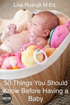 50 Thing You Should Know Before Having a Baby