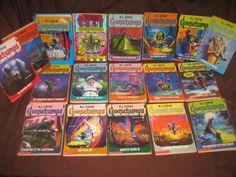 GOOSEBUMPS BOOK LOT (1995-1996) R.L. STINE