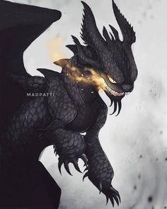 Httyd Dragons, Dreamworks Dragons, Mythical Creatures Art, Fantasy Creatures, Fantasy Dragon, Fantasy Art, Night Fury Dragon, Film Anime, Big Cats Art