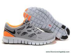 sale retailer faf9b 7bc4b New 472519-012 Nike Free Run 2 Mens Shield Stealth Black Total Orange Cool  Grey