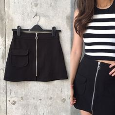 Alice x UO black mini skirt In great condition Urban Outfitters Skirts Mini