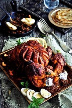 Stuffed Chicken Roast in Spiced Gravy by Life Scoops
