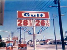 Gas station on Foothill Blvd. in Sunland in the 60's.  Note the gas prices.